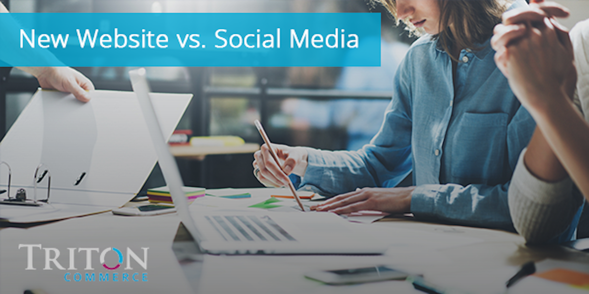 A Website vs Social Media: Where Should I Spend My Marketing Dollars?