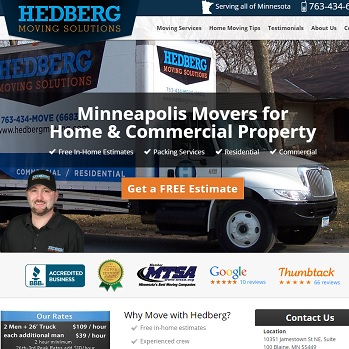 Hedberg Moving